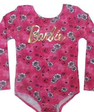 Body Infantil Barbie Pink