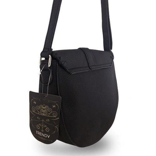 muchos de moda nuevo autentico compra genuina Cartera bandolera Trendy con solapa y hebilla