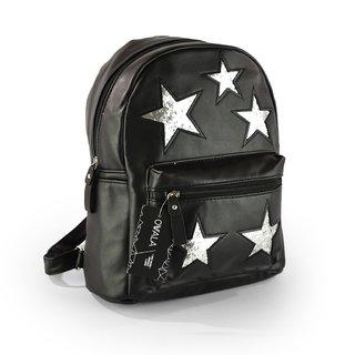 44a6bdfe1c0 Mochila Trendy con estrellas de brillitos