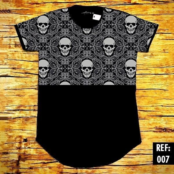 OVERSIZED BIFÁSICA SKULL TRIBAL - Riviera Clothing