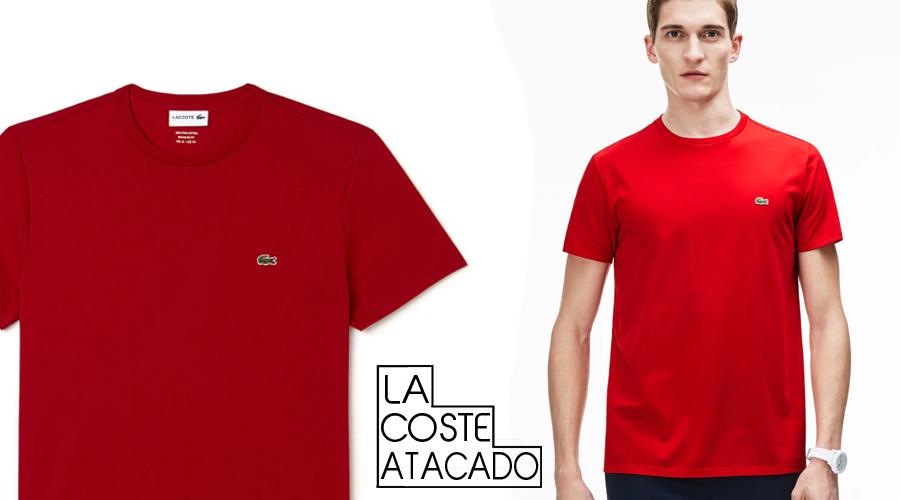 Catálogo de Atacado camisetas Lacoste Original 3fb7f208e3603