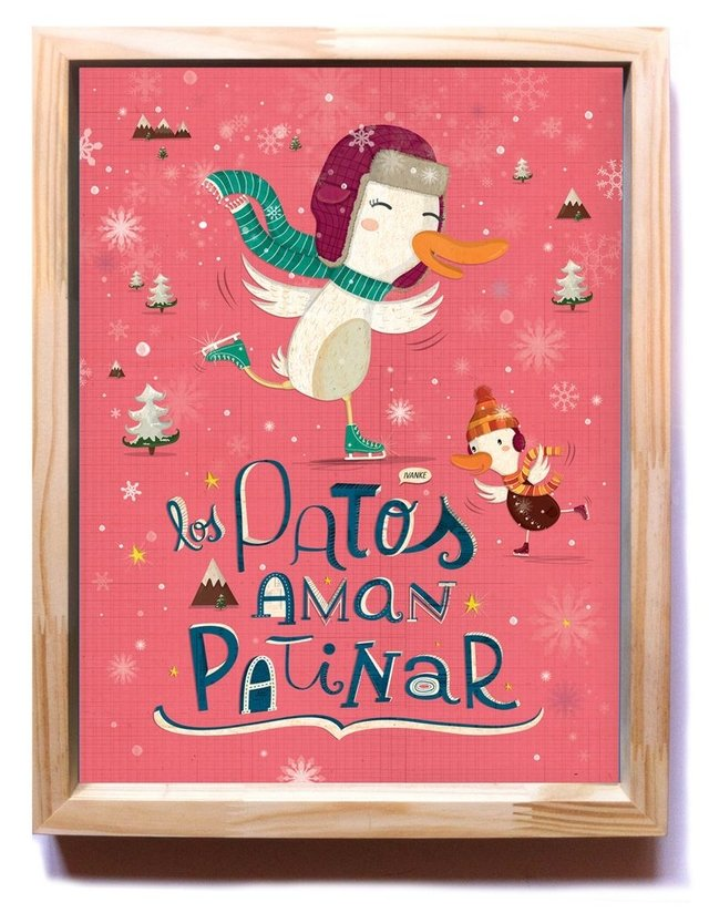 Los Patos Aman Patinar