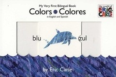 Colors colores - My very firs bilingual book