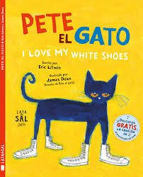 Pete el gato -I love my white shoes - comprar online