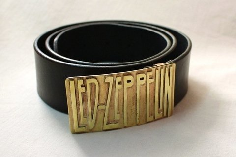 Cinturon Led Zeppelin - Rock