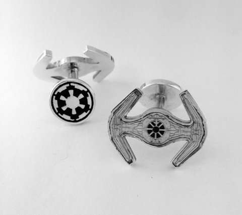 Gemelos Darth Vader; Star Wars; Joyas Para Fans Tie Figher