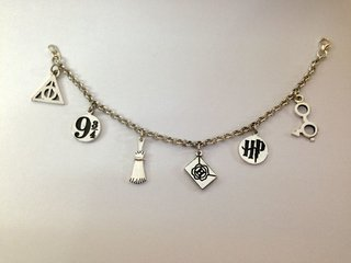 Pulsera: Dijes Harry Potter