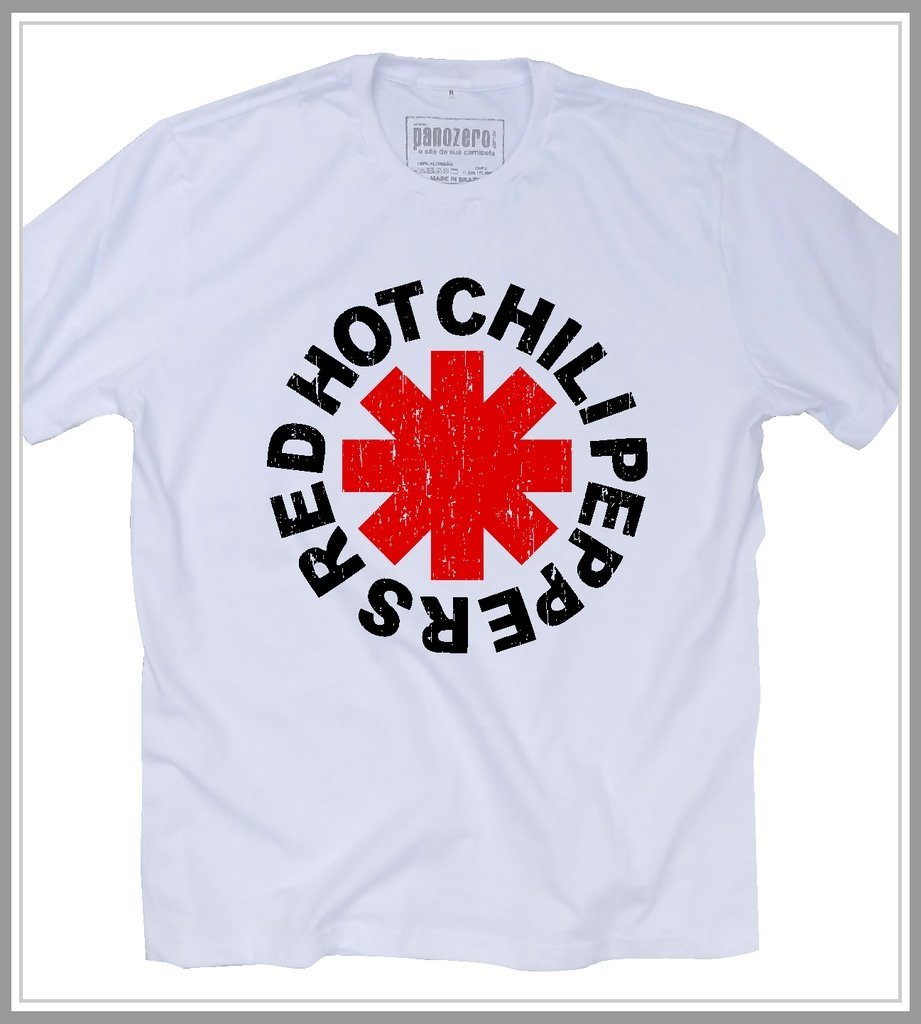1e3fd42caf camiseta red hot chili peppers