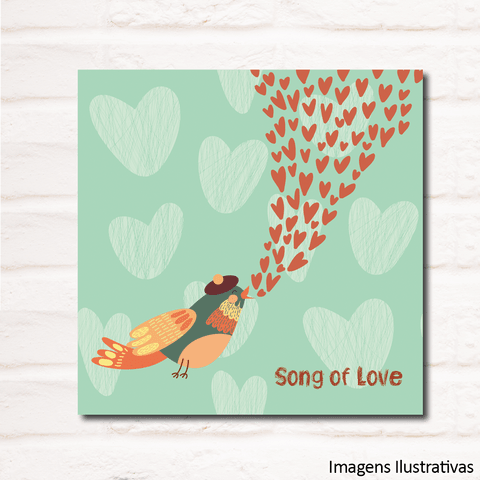 Quadro Decorativo Song Of Love