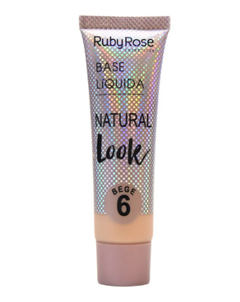 Base Líquida Natural Look - Ruby Rose - loja online