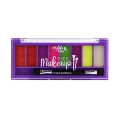 Paleta de Sombras Eyes Make Up 8 Sombras - MyLife na internet