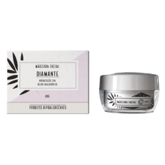 Máscara Facial Diamante TBMake e Chata de Galocha