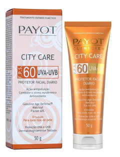 Protetor Facial Clinicien City Care FPS 60 - Payot