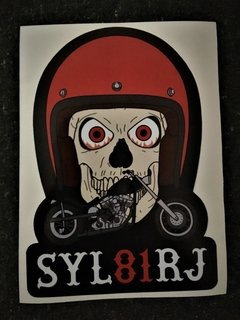 sticker skull syl81
