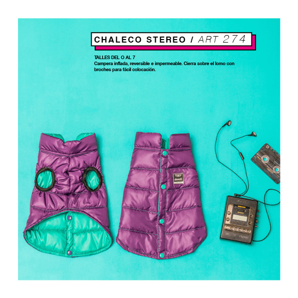 Chaleco Stereo (reversible) - comprar online