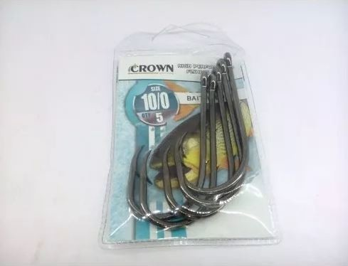 ANZOL CROWN BAITHOLDER BLACK 08 C/10