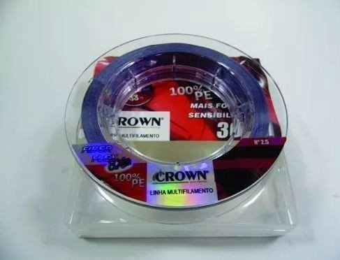 Linha Multifilamento Crown FIBER FLEX 8X 0,30mm 100m na internet