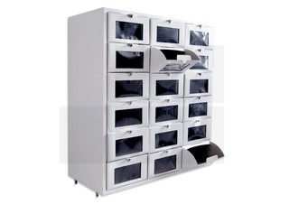 Mueble x18 medium blanco - Marca En Orden