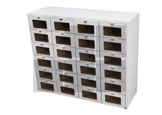 Mueble x24 medium blanco - Marca En Orden