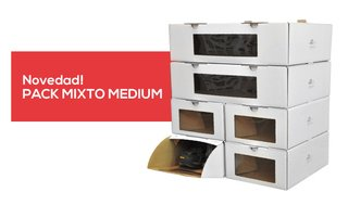 Pack 6 Mixto Medium - Marca En Orden