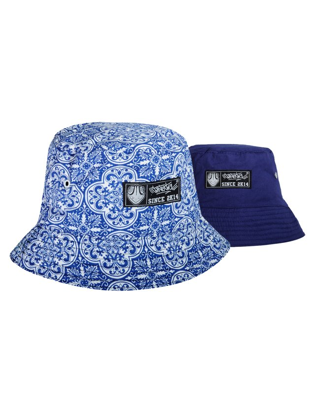 Bucket Hat Azulejo