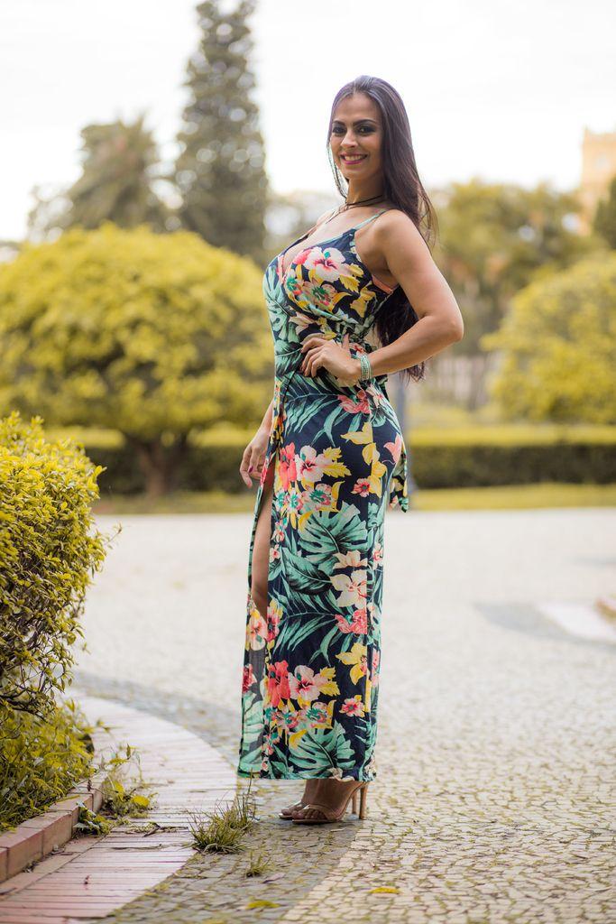 aebb47645e Vestido Longo Transcend Alça Lookbook - comprar online. R 35