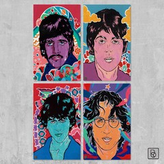 The Beatles Colores