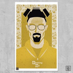 Breaking Bad Retratos - Renovo Colgables