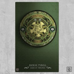 Game of Thrones Houses x 6 - Renovo Colgables