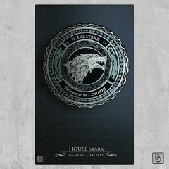 Game of Thrones Houses x 3 - comprar online