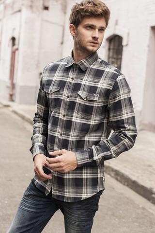 5290ba4e8 Camisa Xadrez Slim - Comprar em SHOP COLCCI OFICIAL