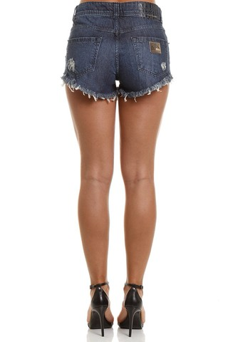 Short Jeans com Bordado - SHOP COLCCI OFICIAL