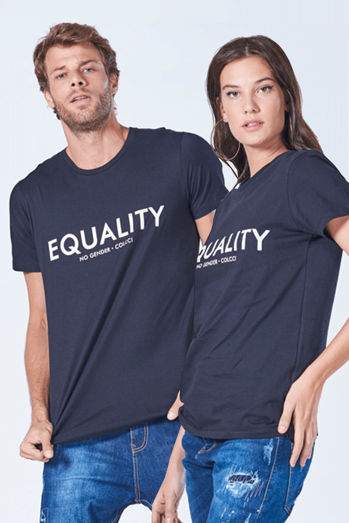 Camiseta Estampada no Gender