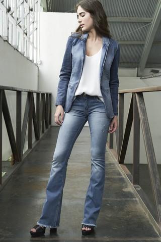 2faf29b6f Calca Jeans Flare - Comprar em SHOP COLCCI OFICIAL