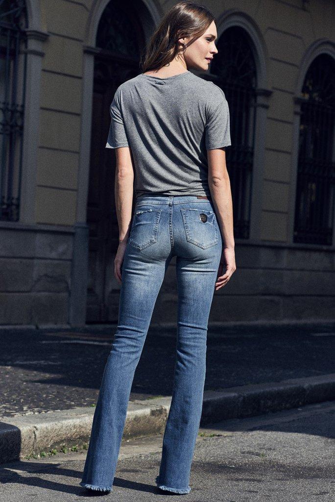 5ad7c0116c110 Calca Jeans Flare - Comprar em SHOP COLCCI OFICIAL