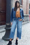 Calca Jeans Pantacourt
