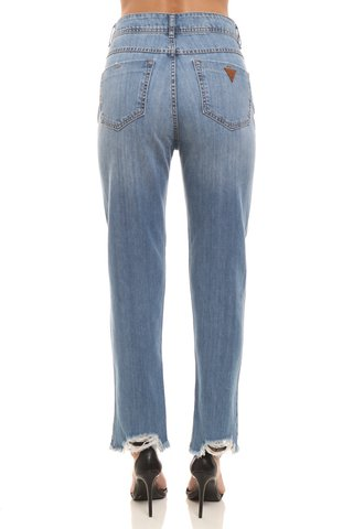 Calca Jeans Suki Barra Destroyed - SHOP COLCCI OFICIAL