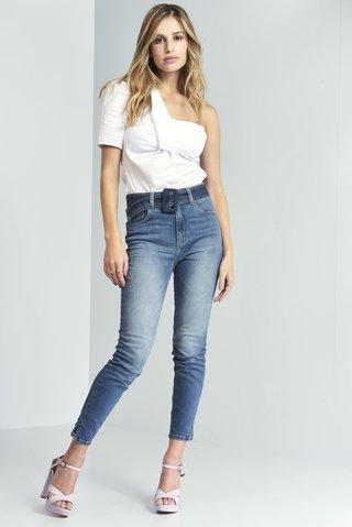 bf8110660 Calça Jeans Karen com Cinto - SHOP COLCCI OFICIAL