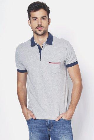4d1ec9ac65 Camisa Polo com Bolso - comprar online  Camisa Polo com Bolso ...