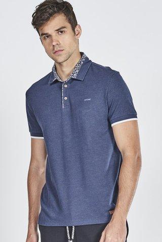 0dfb514d7 Camisa Polo com Gola Estampada - SHOP COLCCI OFICIAL