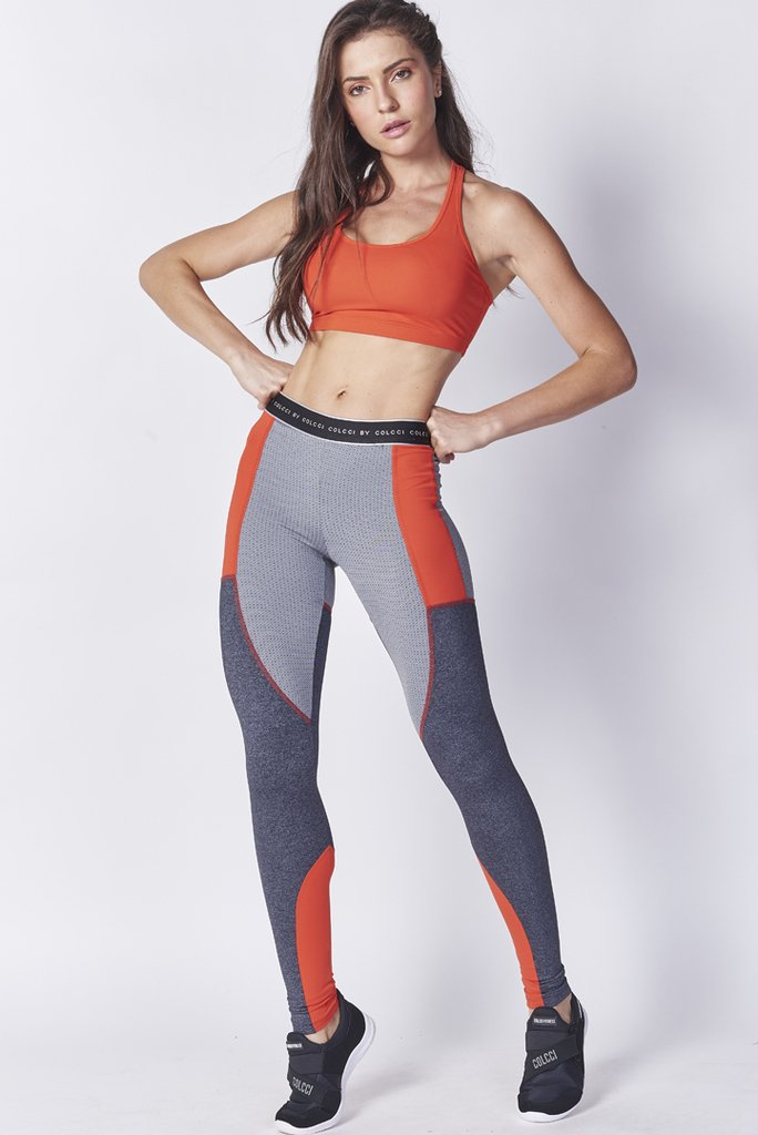 Calca Legging Recortes