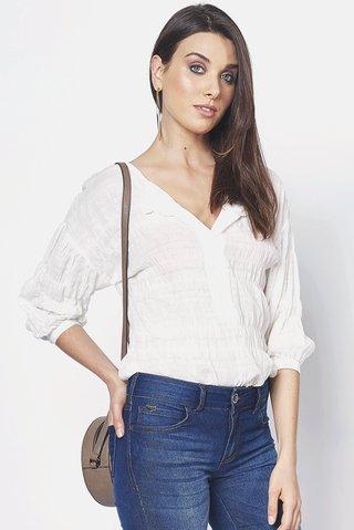 76d39dbe0 Camisa Mangas 7 8 - comprar online; Camisa Mangas 7 8 ...