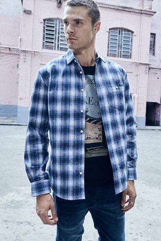 1d9b3393b Camisa Flanela Xadrez Slim - SHOP COLCCI OFICIAL