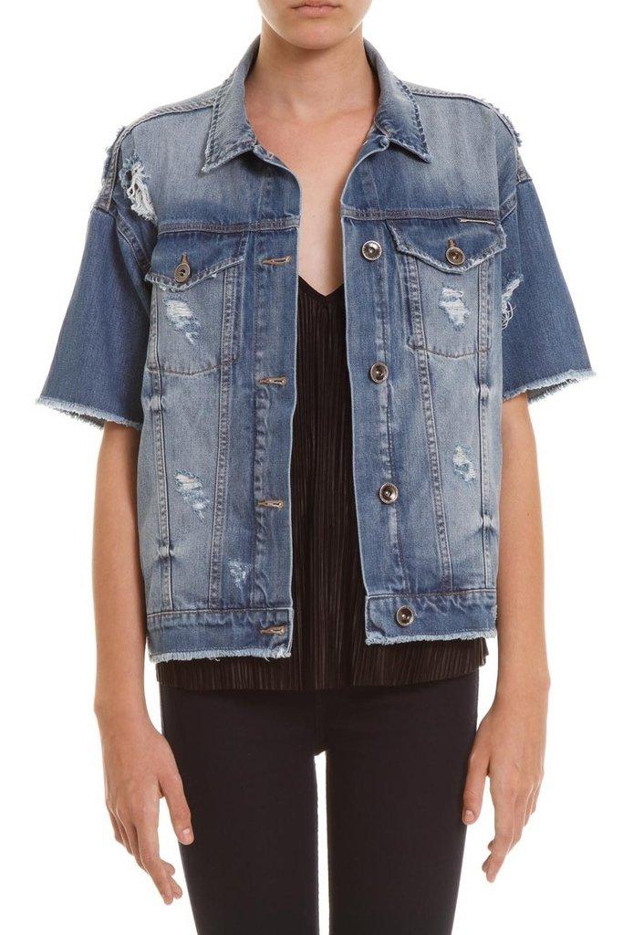 Jaqueta Jeans Bordada - Comprar em SHOP COLCCI OFICIAL 9576712e7d2ca