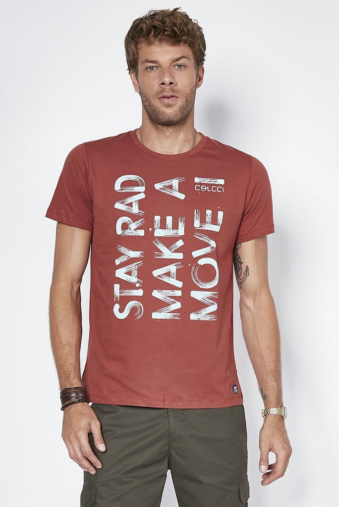 Camiseta Estampada Move