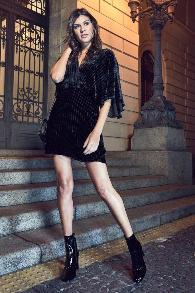 a233c1930 Vestido Curto Veludo - Comprar em SHOP COLCCI OFICIAL
