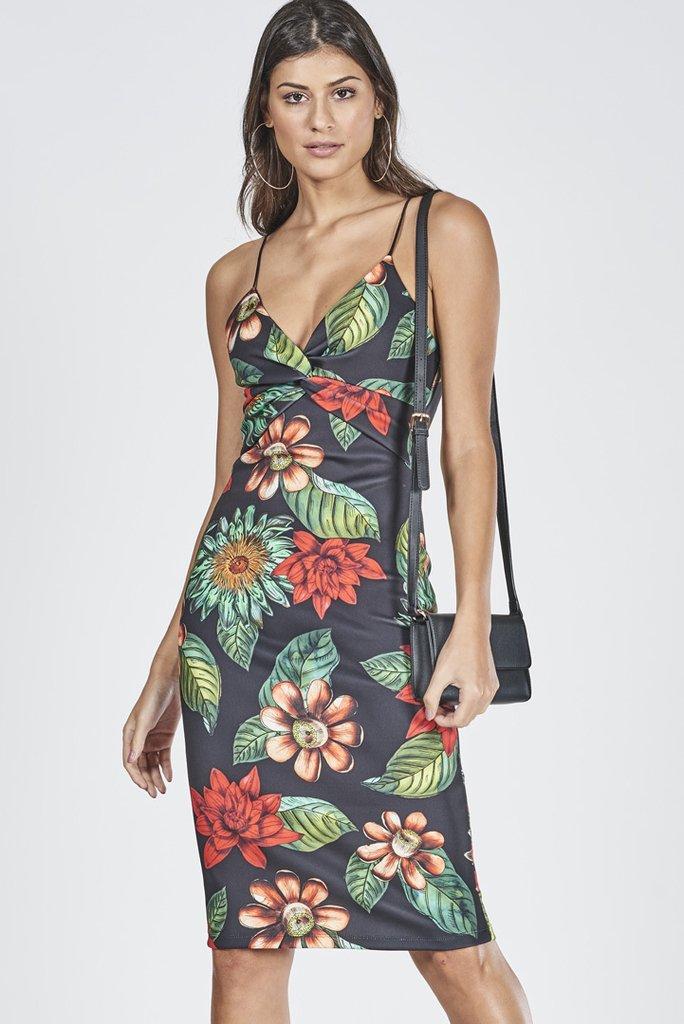 e3e383ea8 Vestido Curto Estampa Floral - SHOP COLCCI OFICIAL