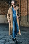 Casaco Trench Coat Longo na internet