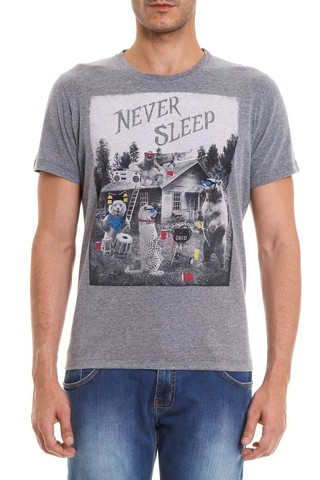 Camiseta Never Sleep na internet