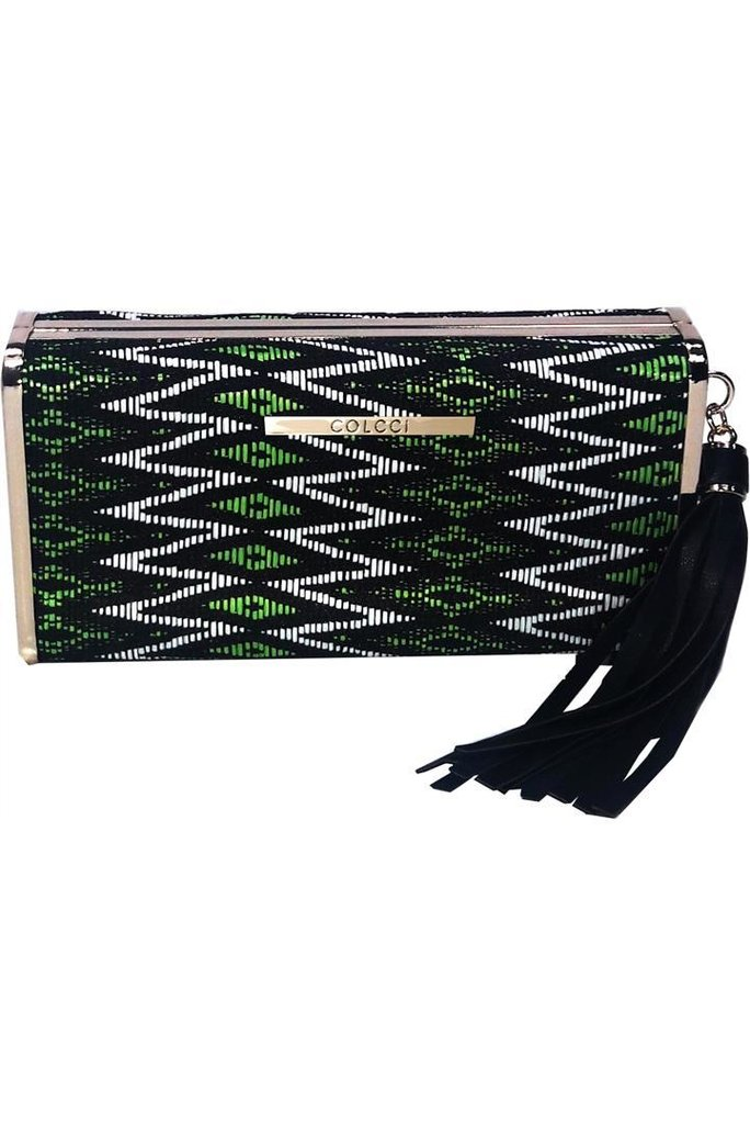 Clutch Quadrada Barbicacho